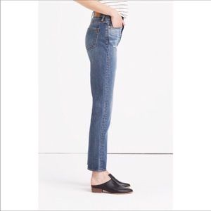 Madewell the perfect vintage jean denim high rise
